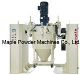 Fácil limpiar y mezcladora de la capa del polvo del mantenimiento con los envases movibles