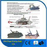 3.2t Competitive Factory Price Wire Rope Manual Cable Hoist