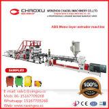 ABS Mono-Layer Lage Prijs van de Machines van de Extruder van de Bagage de Plastic van China