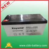 Gel solar contra-roubo Cheio-Selado da bateria 12V 200ah do gel do armazenamento do parafuso