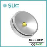 高いCRI (SLCG-A001)を含む方法3W LEDキャビネットライト、家具ライト、天井灯、ライト、点ライト