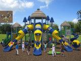 2014 heiße verkaufende Waldgrün Design Spielplatz-Ausrüstung für Park