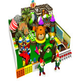 Campo da giuoco molle dell'interno personalizzato commerciale del giocattolo di plastica di marca superiore