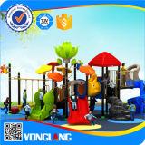 Apparatuur van de Speelplaats van China de Plastic Commerciële Openlucht (yl-S132)