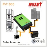 Obrigação PV1800 High Frequency Hybrid Solar Inverter 3kw 220V com Charge Controller