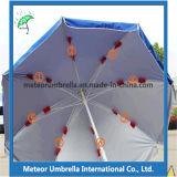 De embleem Afgedrukte Paraplu van het Strand van het Gebruik van de Tuin Grote Grote