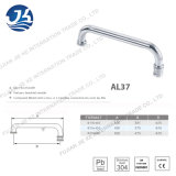 Punho de porta O-Shaped do aço inoxidável do banheiro da alta qualidade (AL37)
