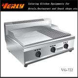 스테인리스 Steel Flat 및 Groove Gas Griddle (VG-722)