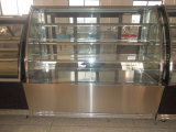 Curva Glass Cake Showcase Cooler per Display Cake o Snack in Bakery Shop