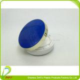 زرقاء [رووند شب] [أير كشيون] [بّ] قشرة مستحضر تجميل وعاء صندوق
