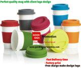 顧客のロゴデザインの昇進の陶磁器のマグ