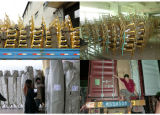 مصنع مباشرة خداع ألومنيوم وحديد [شفري] كرسي تثبيت