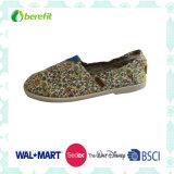 女性のCanvas Shoes、エヴァSole、Ligjt Wear FeelingとのCanvas Upper