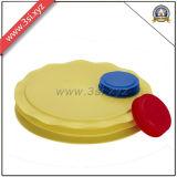 Botella plástica del tubo del enchufe del extremo de tubo del fabricante de China (YZF-H101)