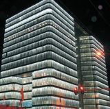 Rondelle de mur d'éclairage de façade de medias de DEL (H-360-S54-RGB)