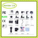 Mini câmera do esporte da ação DV 4k