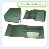 Plegamiento de papel impreso aduana de la cartulina/cajas de embalaje del regalo plegable para el empaquetado del vino (BP-BC0002)