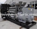 generador BRITÁNICO del diesel del motor de la potencia espera de 2250kVA 1800kw