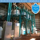 Getreidemühle bearbeitet 50t pro Tag China Qualitätsmais-Getreidemühle-Maschinen maschinell