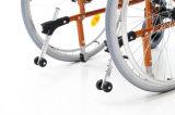 فولاذ كرسيّ ذو عجلات يدويّة مترف مع منافس من الوزن الخفيف, [موتي-فونكأيشن] لأنّ [إلدرلي بيوبل] ([يج-037د])