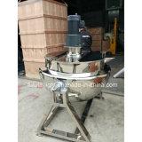 Ketel van de Olie van het roestvrij staal de Beklede Kokende met Mixer