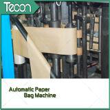 Automatischer mehrschichtiger Unterseite-Geklebter Papierbeutel, der Maschine herstellt