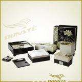 Série spéculaire de configuration de lotus de procès en bois de Guestroom