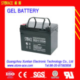12V Normal Voltage, Maintenance Free Accumulator를 가진 젤 Battery