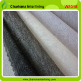 Interfacing&Interlining fusible no tejido negro/blanco/gris del poliester 100%