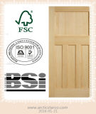 Les BS 476 Wooden Fire Rated Door/Solid Wooden Door avec Highquality