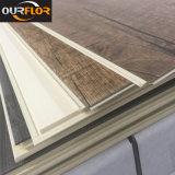 Suelo compuesto plástico de madera de interior de los azulejos de suelo del vinilo de los tablones WPC del suelo de WPC