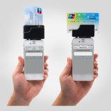 Leitor de cartão móvel do furto com o leitor de cartão da microplaqueta do CI EMV