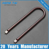 Elemento de calefacción de los tubos del gemelo del cuarzo del precio bajo