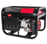 CA Single Phase Output Type Gasoline Generator Set 3kw, Portable Generator con Wheels e Handle