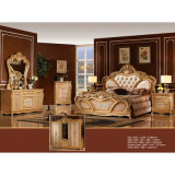 Het klassieke Meubilair van de Slaapkamer met het Bed van de Koning/het Bed van de Slaapkamer (W802)