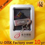 giro feito sob encomenda do logotipo 1-128GB/mini USB de giro Pendrive (YT-3274L)