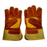 Перчатки безопасности кожаный работая с Ce En388
