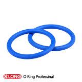 Joint en caoutchouc bleu de joint circulaire de Fvmq pour l'application statique