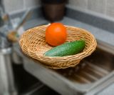 Handmade Wicker Storage Basket 또는 Gift Basket (BC-ST1014)