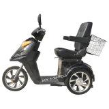 Scooter Triciclo de movimentação elétrica de 500W48V 3 rodas, triciclo elétrico desabilitado para condução ao ar livre (TC-015)