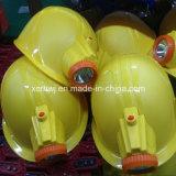 Explosiebestendige LEIDENE de Van uitstekende kwaliteit van China Kappen van de Veiligheid voor Mijnwerkers, LEIDENE van de Lamp GLB van de Mijnbouw van de Veiligheid Lamp, de Helm van de Veiligheid met Navulbare LEIDENE HoofdLampen