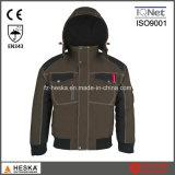 Куртка бомбардировщика зимы куртки ленты шва Mens водоустойчивая пилотная