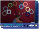 Guter stichhaltige Absorptions-Polyester-Faser-akustischer Vorstand-dekorative Panels