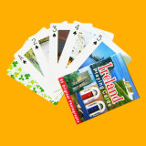 Projetar cartões de jogo plásticos dos cartões de anúncio