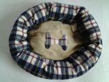 Portable de modèle de couronne de chat de lit de chien de natte d'animal familier