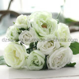 装飾(SF12495)のための熱い販売の高貴な結婚のローズの花束の人工花