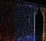 LED Christmas Star Curtain Light mit Cer