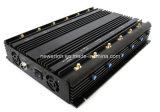12 안테나 315/433MHz RF 무선 신호 방해기 차단제 이동 전화 방해기 GPS WiFi 방해기