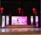 Tabellone per le affissioni dell'interno del LED che fa pubblicità allo schermo di visualizzazione della fase della visualizzazione LED