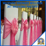 100%Polyesterは結婚式の装飾のためのオーガンザのリボンを卸し売りする